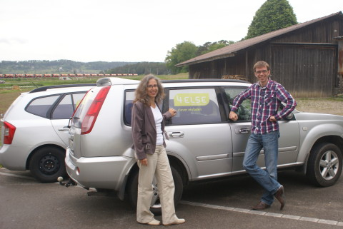 Die 4else Gründer: Beatrice Hohl und Martin Hengärtner.