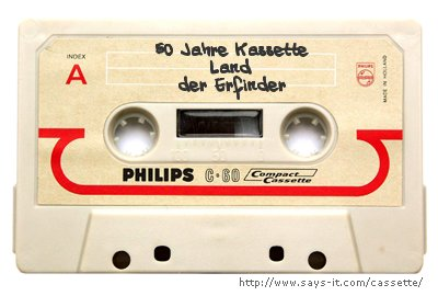 50 Jahre Kassette