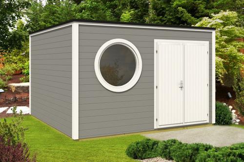 Design Gartenhaus Cubus-Royal-380