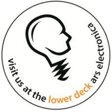 Besuchen Sie uns im Lower Deck auf dem Ars Electronica Festival 31.08. – 06.09.2011 in Linz, Österreich