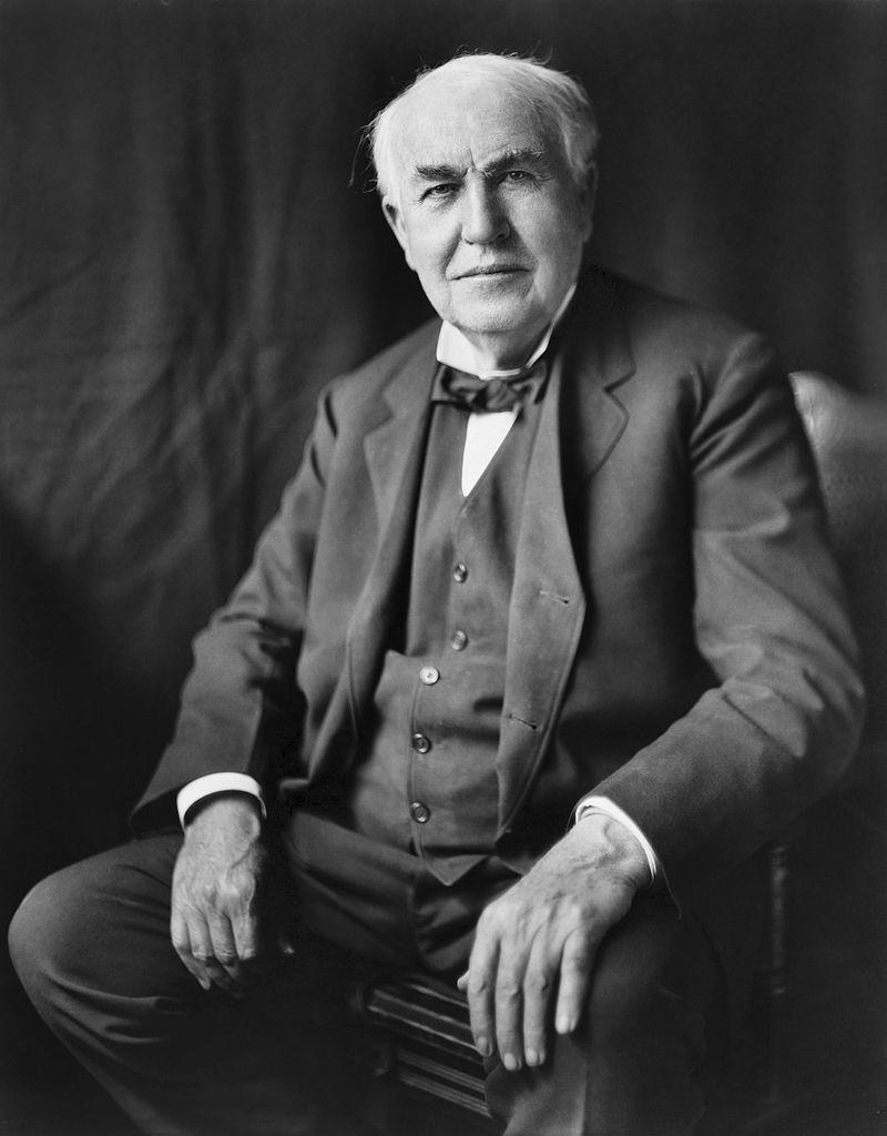 Erfinder Thomas Edison