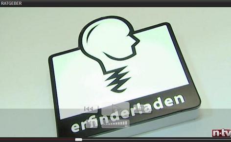 Mit Patenten zum Erfolg - n-tv Ratgeber Steuern und Recht TV Beitrag