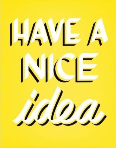 Have a nice Idea