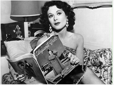 Die Welt feiert die Erfinder am 09. November dem Geburtstag von Hedy Lamarr