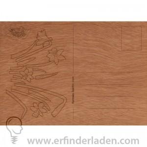 Holzkarte_Osterglocken_erfindung