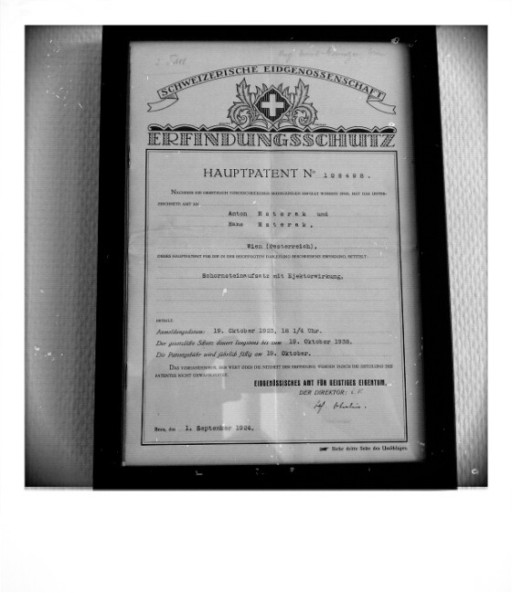 IGE Patentschrift