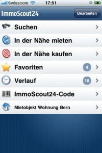 Immobilien iApp ImmoScout24 1