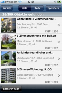 Immobilien iApp ImmoScout24 3