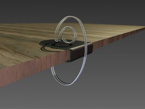Kabelklammer erfindung
