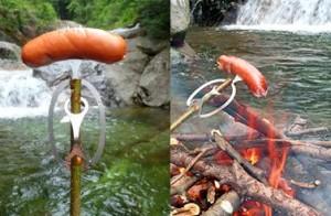 Die Neptune's BBQ Fork Erfindung