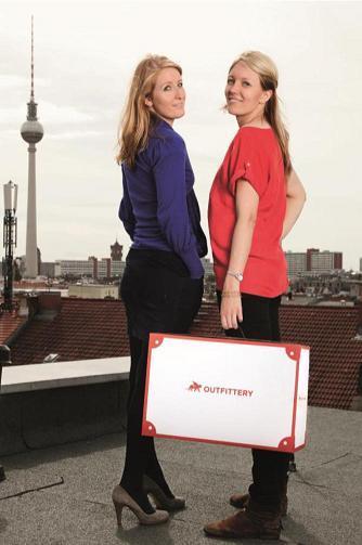 Julia Bösch und Anna Alex