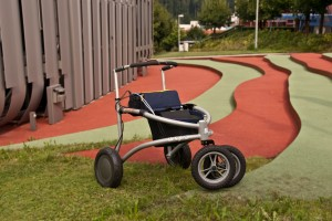 Der Prototyp des Rollators soll im Forschungsprojekt «iWalkActive» weiterentwickelt werden.