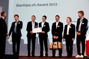 Gewinner des 20 Minuten Online Votings: Sackstarch. Die Schüler der Kantonschule Zürich-Hottingen waren die Publikungslieblinge im Online-Voting.
