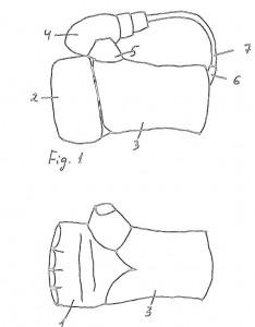 Sandsackhandschuhe mit Luftmanschette
