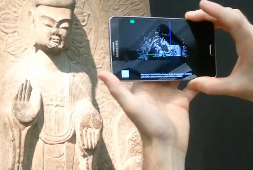 Die Technologie der ETH-Wissenschafler funktioniert auch bei schlechten Lichtverhältnissen, beispielsweise in Museen (Foto: Institut für Visual Computing / ETH Zürich).