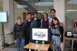 ETH Team SmoColi Team: Sabine Österle, Lukas Widmer, Sebastian Murmann, Laura Buzdugan, Michael Eichenberger und Irena Kuzmanovska
