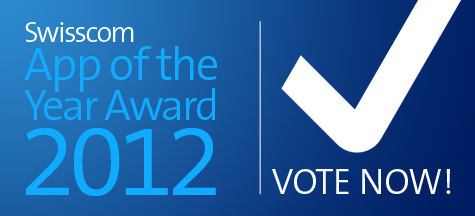 Swisscom App of the Year Award 2012
