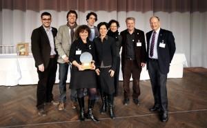 Team Joulia mit dem Jury-Mitglied Pascale Bruderer Wyss, welche Ihre Joulia bereits vorbestellt hat.