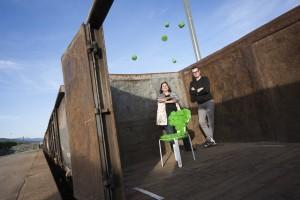 JDF Raum und Kunst, Juliette di Filippo and Björn Ischi Photo © Guy Perrenoud