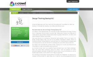 c-crowd-design thinkung startup ag