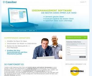 Cassiber die innovative ideenmanagement software land - Erfinder der sms ...