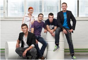 Von links nach rechts: Sandro Zinggeler, Meta Hiltebrand, Ralph Schelling, Tobias Buser und Thierry Boillat.