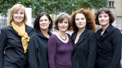 Designgut Team v.l.n.r: Jennifer Lüscher, Katrin Ambühl, Susi Born, Christina Müller, Monica Buzzelli