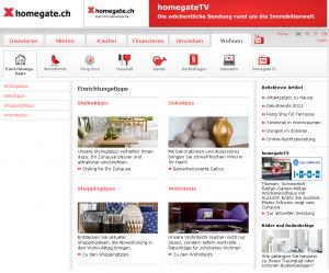 homegate das immobilienportal