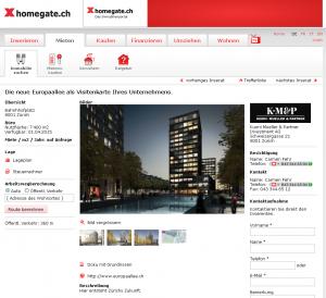 homegate immobilienportal