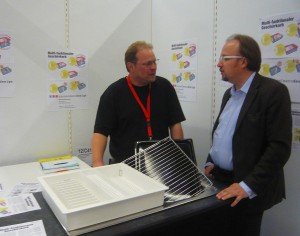 Schweizer Erfinder Marcel Häuselmann und Marijan Jordan