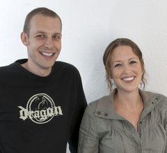 Die Gründer: Thomas Brüderli und Sophie Everett
