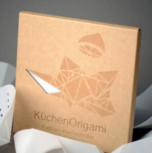 küchen origami - faltbare küchenhelfer