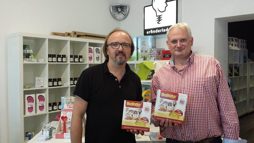 G nter domzal land der erfinder das schweizer magazin f r innovationen - Erfinderladen berlin ...