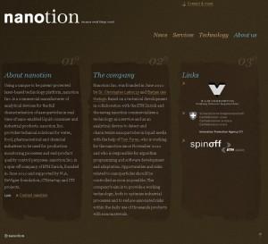 nanotion startup