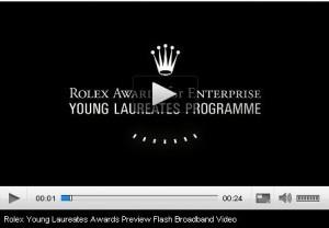rolex award
