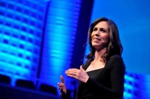 Charmant, witzig, clever: Moderatorin Susanne Wille war einmal mehr ein Genuss (und eine Augenweide)