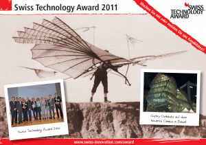 swiss Technology Award 2011