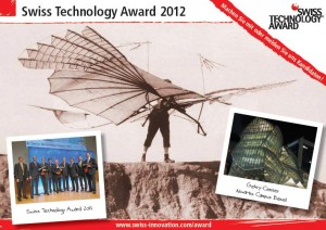 swiss technology award 2012