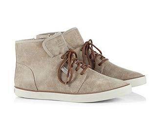 Vegane Sneaker Booties mit Schnürung Bild: esprit