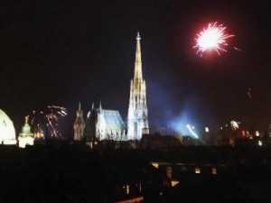 Feuerwerk in Wien