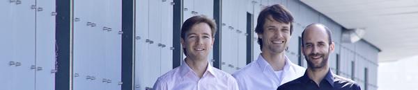 Das Gründerteam: Flavio Heer, CEO Sadik Hafizovic und Beat Hofstetter © Zurich Instruments